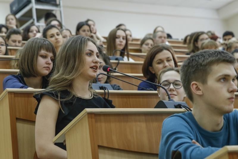 Evgeny Pervyshov Met With Students Of Kuban State University Kubsu The Krasnodar Administration And City Duma